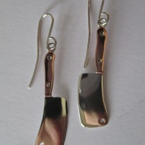 Sterling Silver & Copper - Made to order - $130