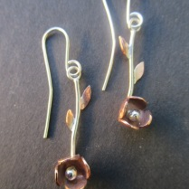 Sterling Silver & Copper - Made to order - $ 125