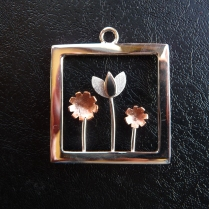 Sterling Silver, Copper & Brass - $165