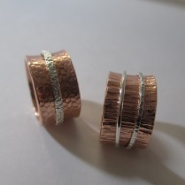 Sterling Silver & Copper - Priced from $110