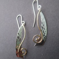 Sterling Silver & 18ct gold - Made to order - $185
